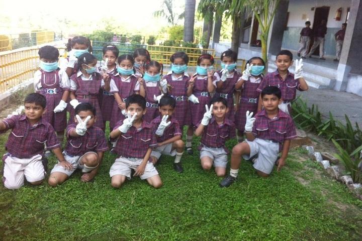 Dr MCM DAV Public School-Swatch Bharath Activity