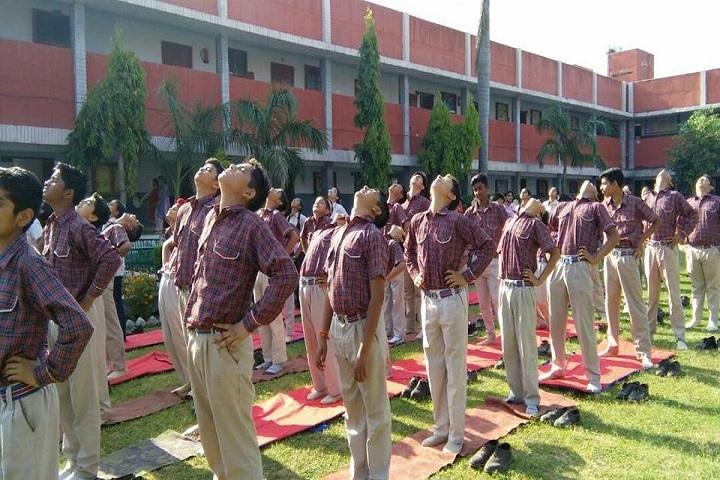 Dr MCM DAV Public School-Yoga