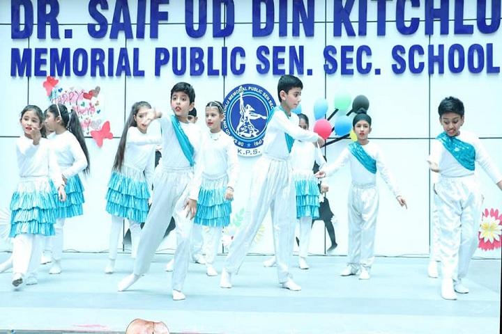 Dr Saif-Ud-Din Kitchlu Memorial Public School-Annual day