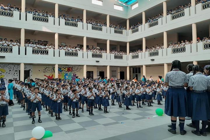 Dr Saif-Ud-Din Kitchlu Memorial Public School-Assembly