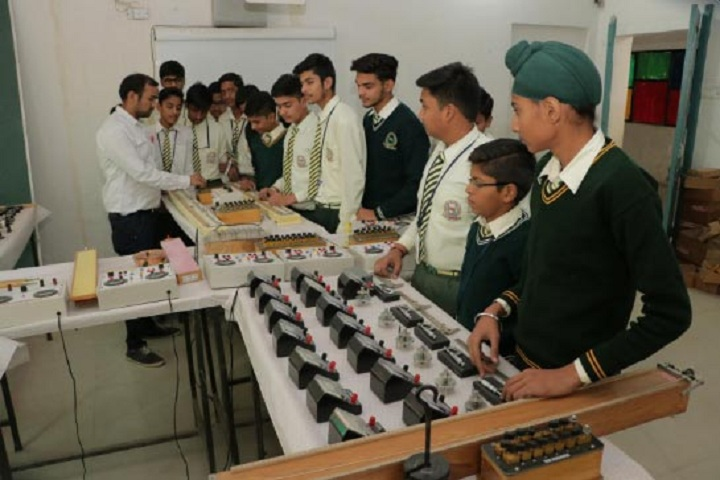 Dr Dev Raj Dayanand Anglo Vernacular Senior Secondary Public School-Physics Lab