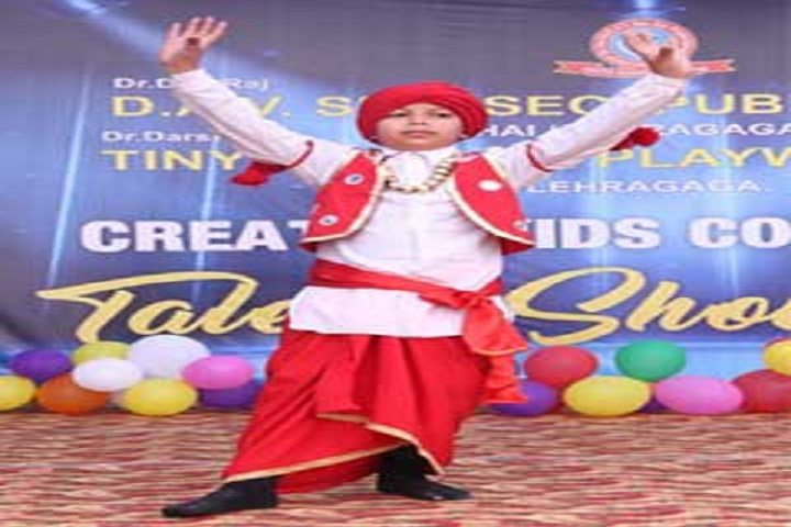 Dr Dev Raj Dayanand Anglo Vernacular Senior Secondary Public School-Dance Performance
