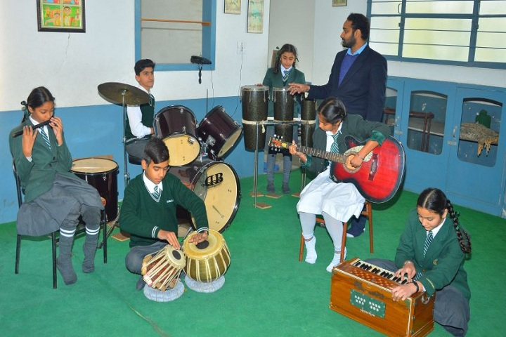 EMM AAR International School-Music Room