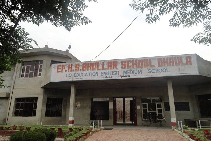 Er H S Bhullar Senior Secondary School- School Campus 2