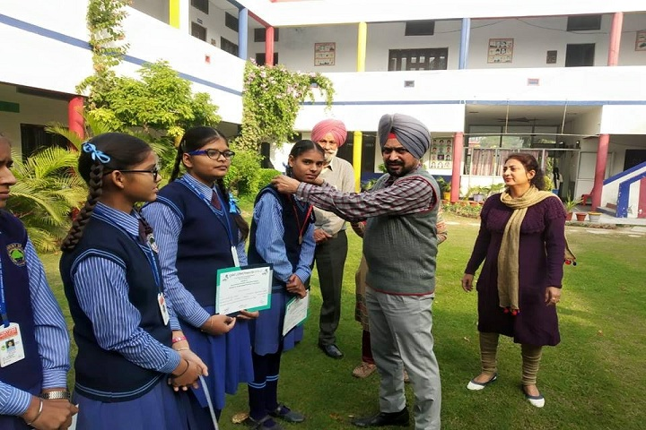 Fortune Convent Senior Secondary School-Medal Distribution