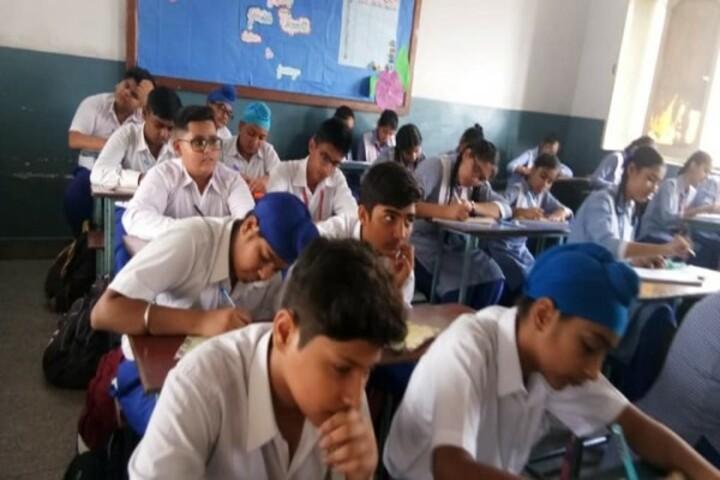 G M T Public School-Classroom