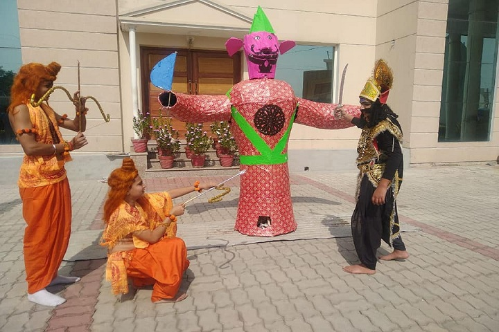 G D Goenka International School-Dussehra Celebrations
