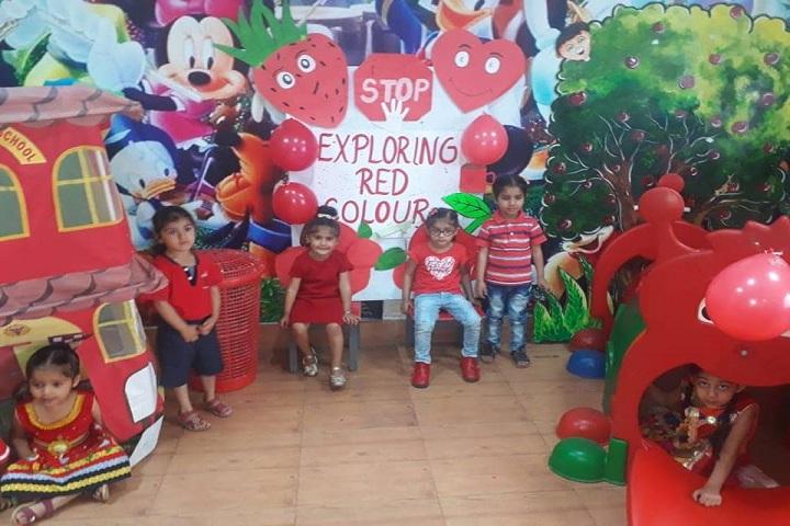 G D Goenka Public School-Red Day Activity
