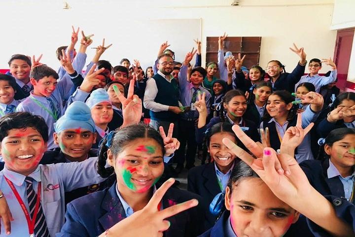 G S Public Senior Secondary School-Holi Celebrations