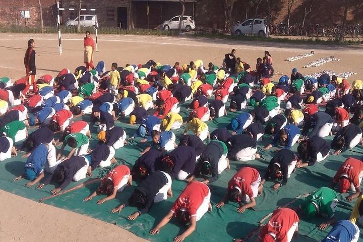 G S Public Senior Secondary School-Yoga