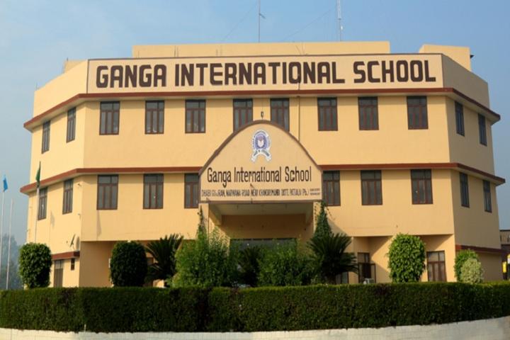 Ganga International School-Campus-View front