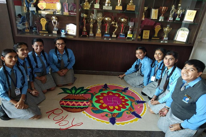 Gems Cambridge International School-Rangoli Event