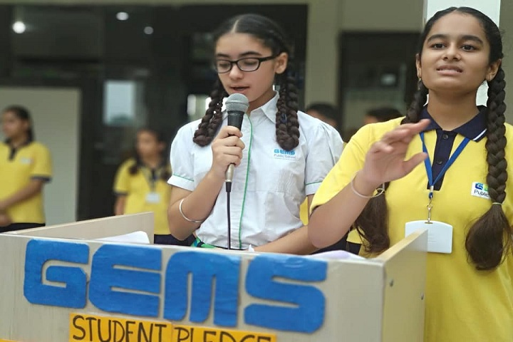 Gems Public School-Pledge