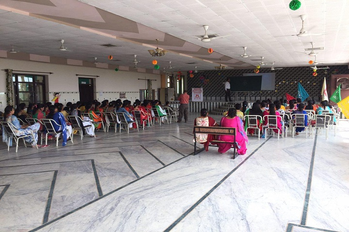 Genius International Public School-Auditorium