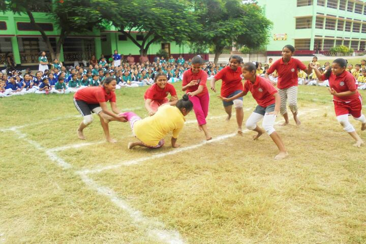 Holy Cross School-Games