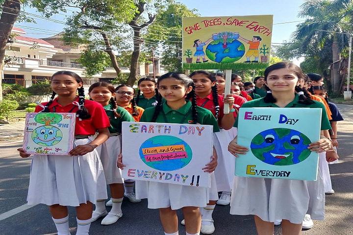 Gian Jyoti Global School-Earth Day Event