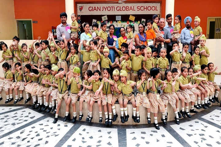 Gian Jyoti Global School-Pre Primary Students