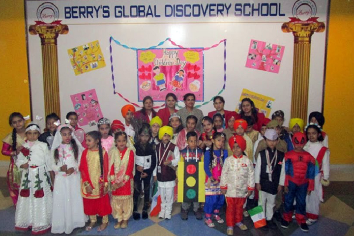 Berrys Global Discovery School-Children