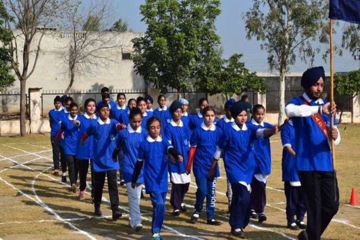 Gn Convent School-March Past