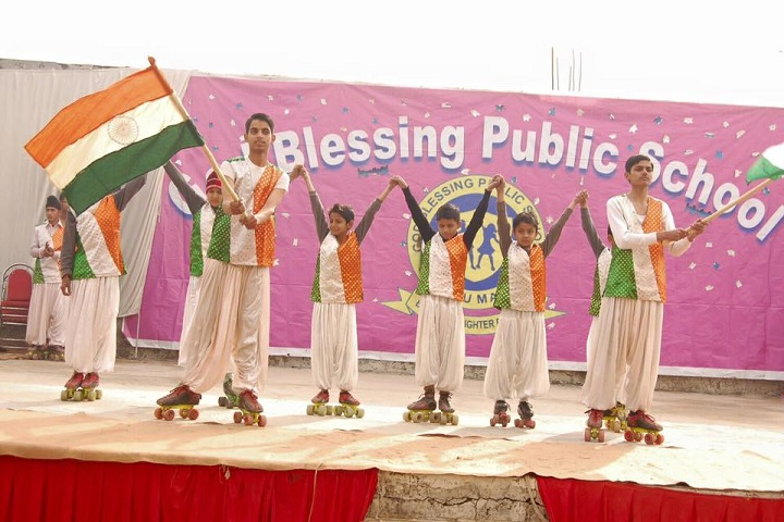 God Blessing Public School-Independence Day