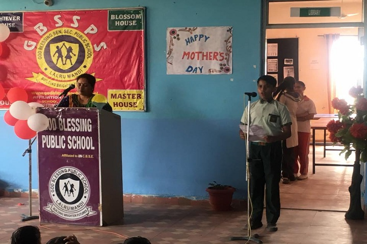 God Blessing Public School-Mothers Day Event