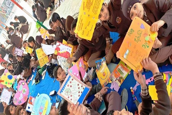 Godwin Public School-Card Making Event