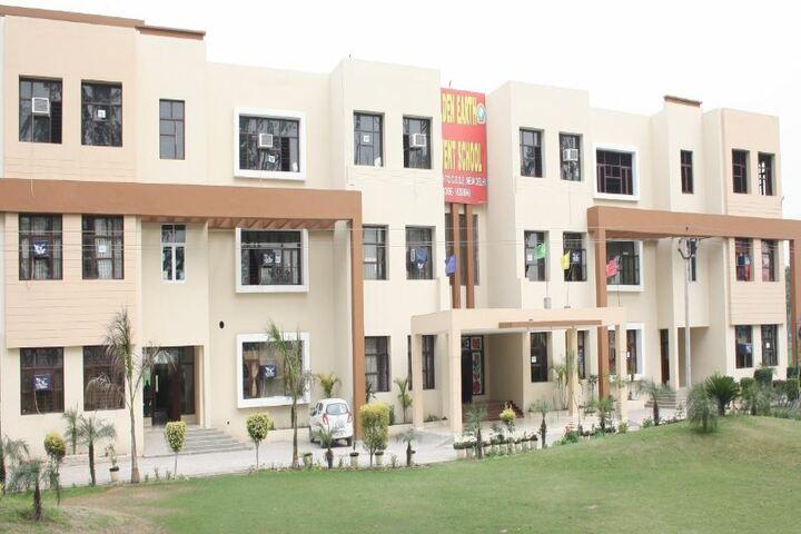 Golden Earth Convent School-Campus View