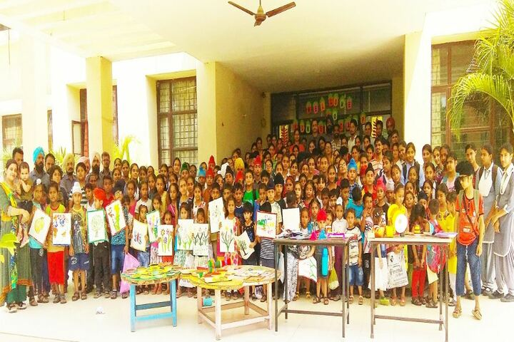 Golden Earth Convent School-Drawing