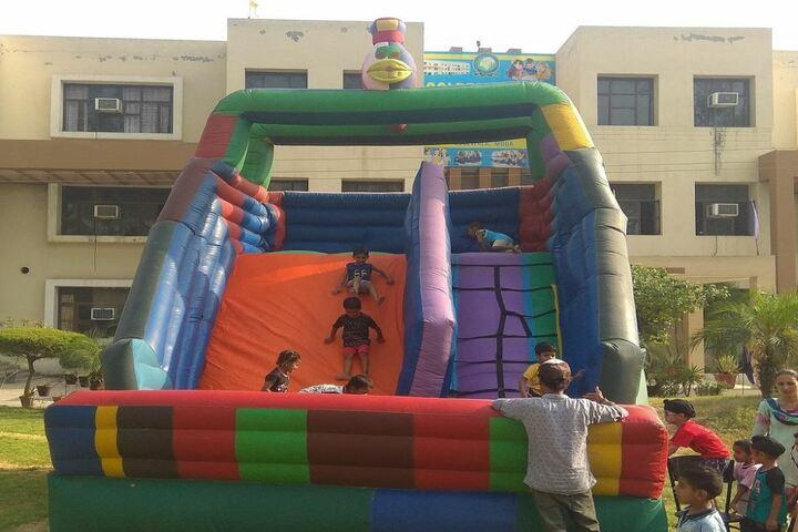 Golden Earth Convent School-Play Area