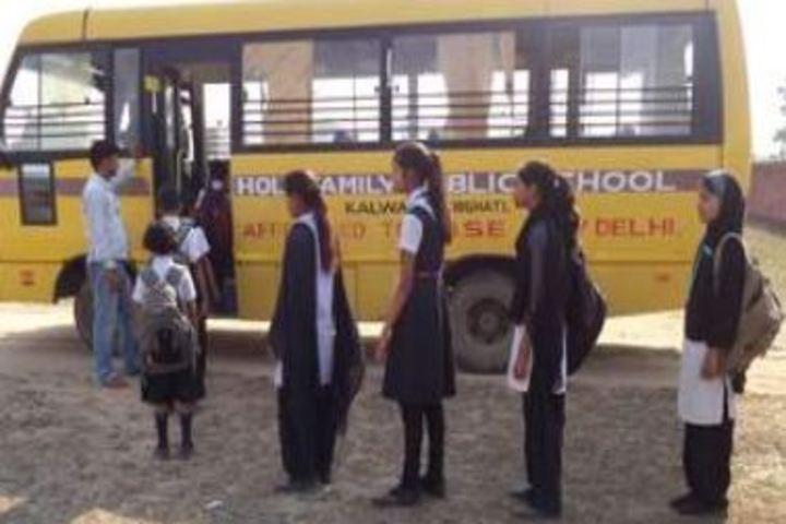 Holy Family Public School-Transport