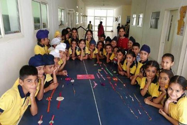 Golden Era Millennium School-Raakhi Celebrations