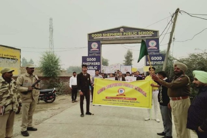 Good Shepherd Public School-Rally