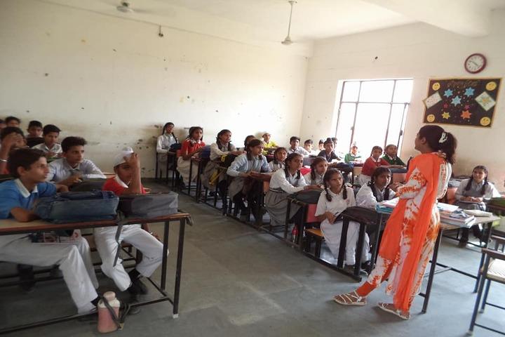 Government G G S Adarsh Secondary School-Classroom