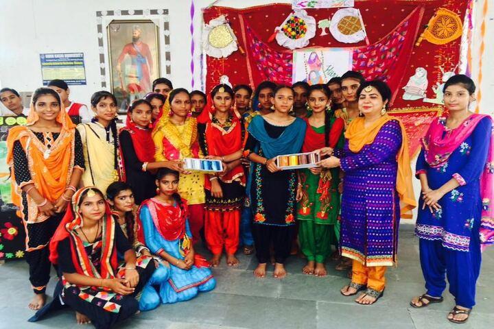 Government G G S Adarsh Secondary School-Festival Celebration