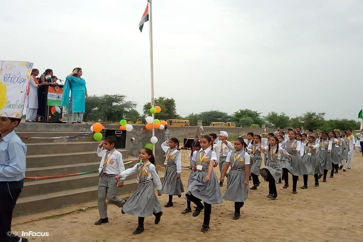 Government G G S Adarsh Secondary School-March Past