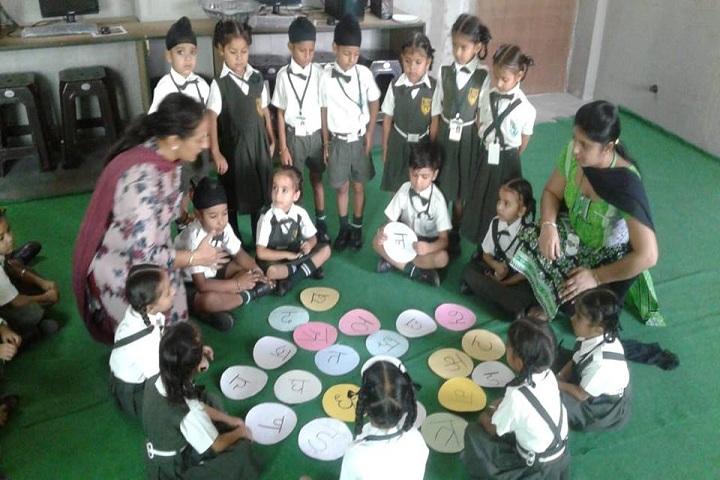 Green Field Convent School-Activity part