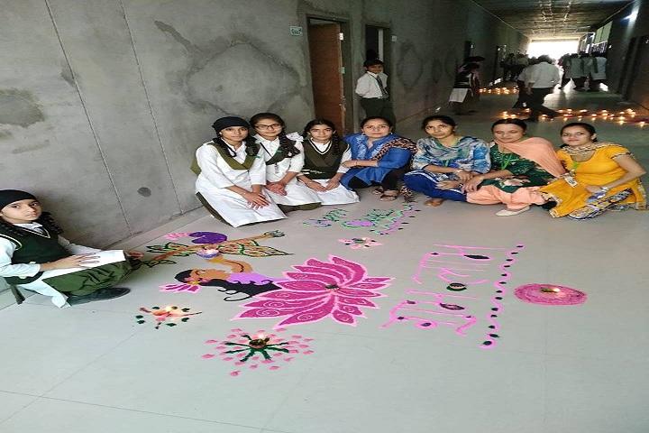 Green Field Convent School-Diwali Celebrations