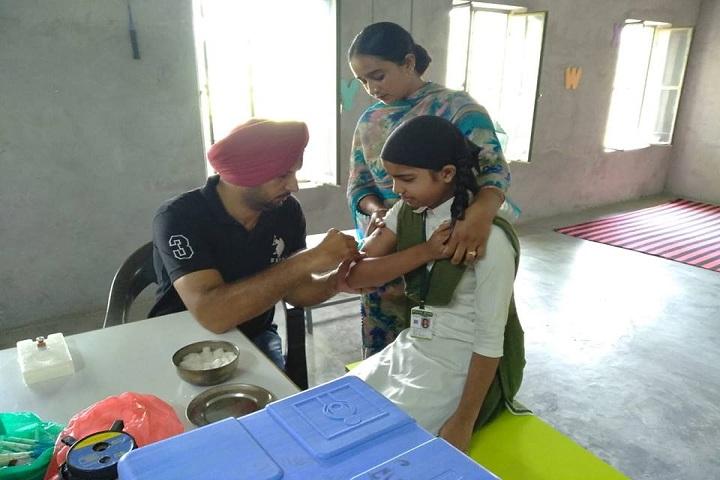 Green Field Convent School-Medical Camp