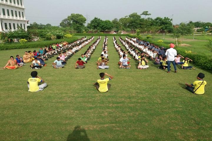 Green Field Convent School-Yoga Class