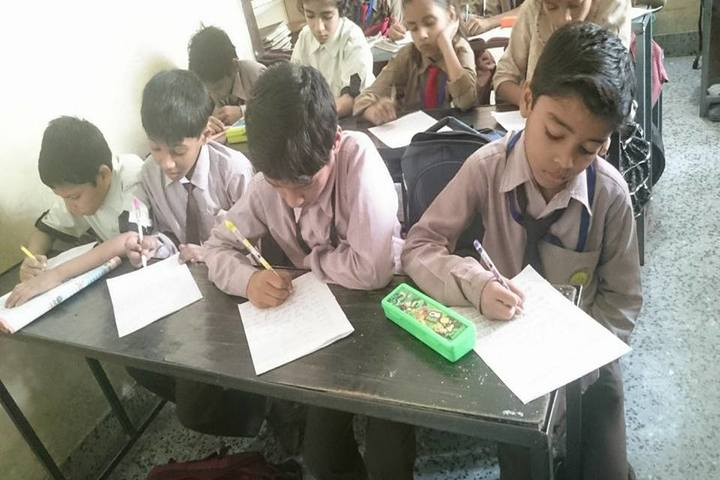 Holy Mission Secondary School-Classroom