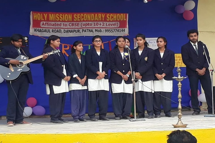Holy Mission Secondary School-Music