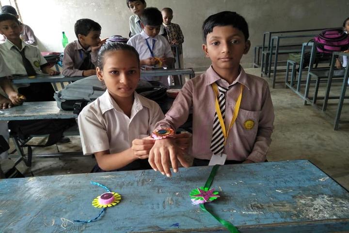 Holy Mission Secondary School-Rakhi Celebrations