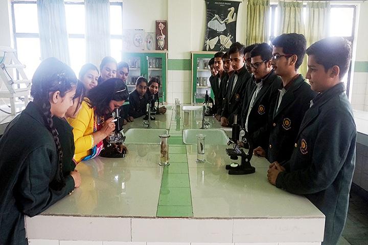 Green Land Convent School-Biology Lab