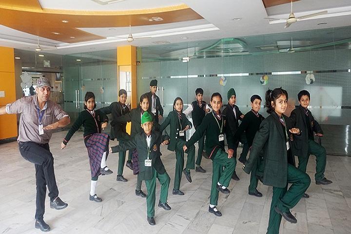 Green Land Convent School-Dance room