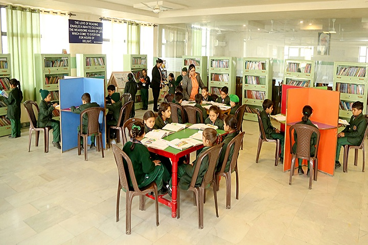 Green Land Convent School-Library