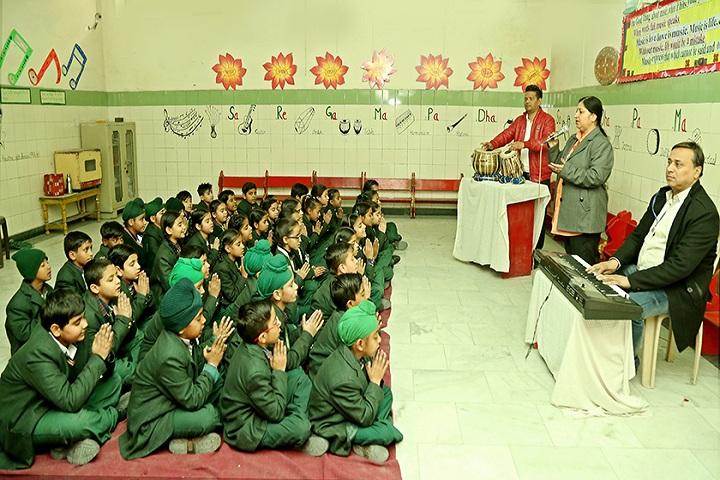 Green Land Convent School-Music Room