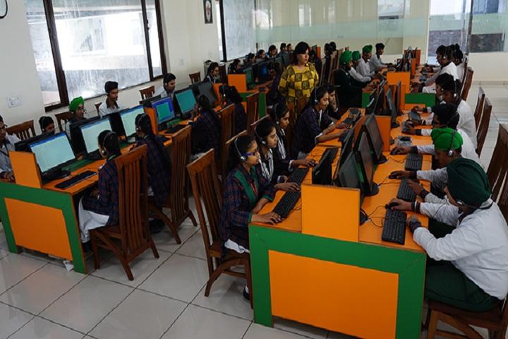 Green Land Senior Secondary Public School-Language Lab