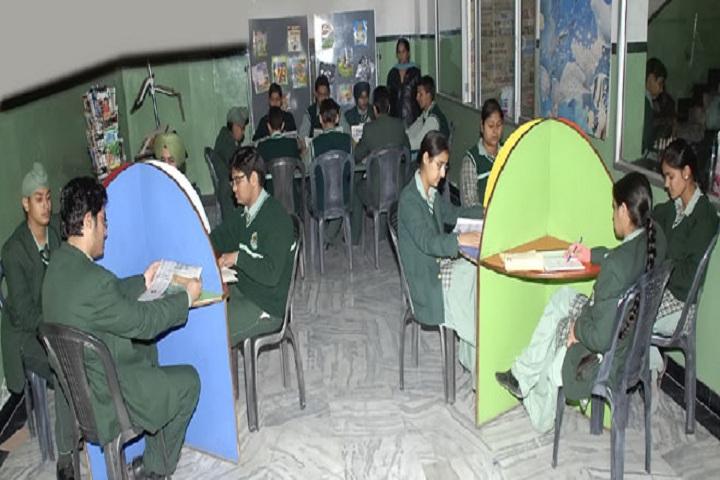 Green Land Senior Secondary Public School-Reading Room