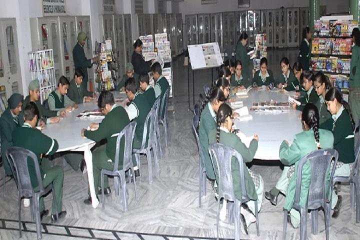 Green Land Senior Secondary Public School-Library