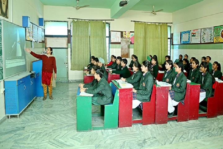 Green Land Senior Secondary Public School-Digitial Classroom